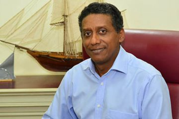 Seychellois President, Danny Faure