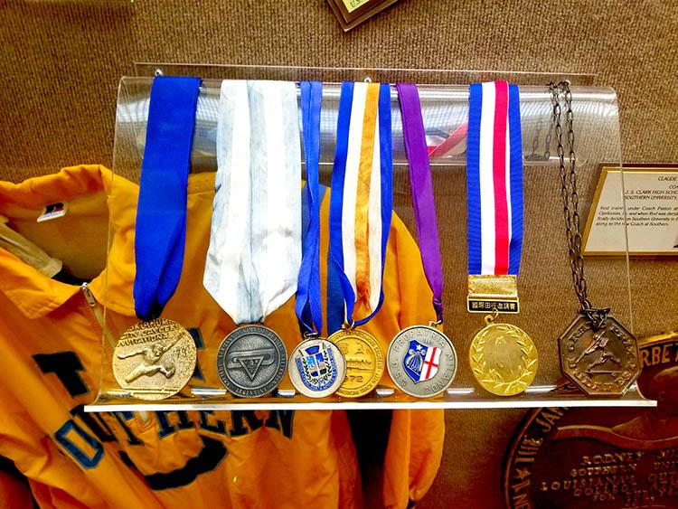 Rodney Milburn Medals_kreol