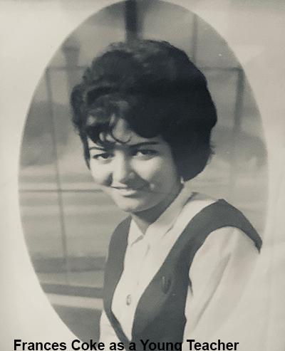 Frances Coke as a Young Teacher
