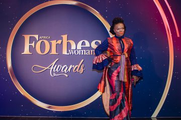 Ranya at Africa Forbes Woman Awards